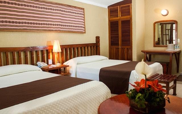 Hotel Nututun Palenque, habitaciones bien equipadas