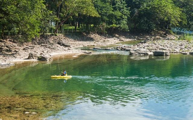 Hotel Nututun Palenque, pasea en kayak
