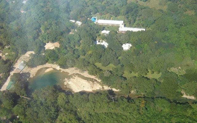 Hotel Nututun Palenque, vista aérea