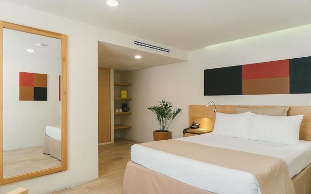 Hotel NYX Cancún, amplias y luminosas habitaciones