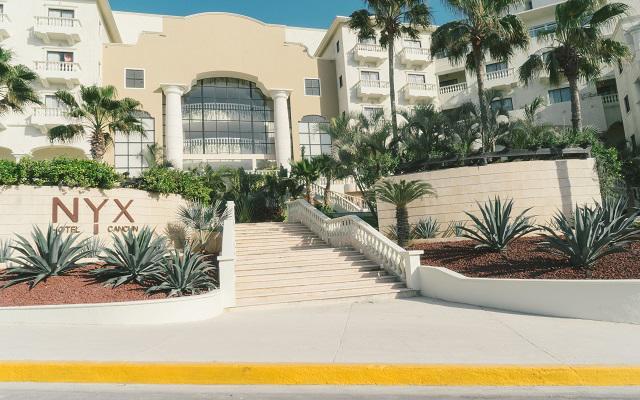 Hotel NYX Cancún, muy buena ubicación en la zona hotelera
