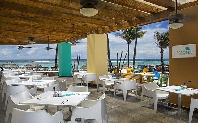 Hotel Oasis Tulum Lite, Restaurante Arrecifes