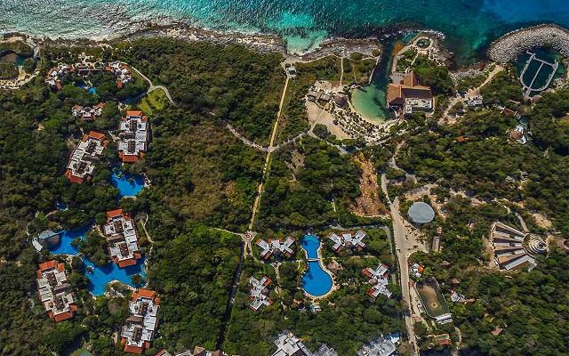 Hotel Occidental at Xcaret Destination, hermosa vista aérea