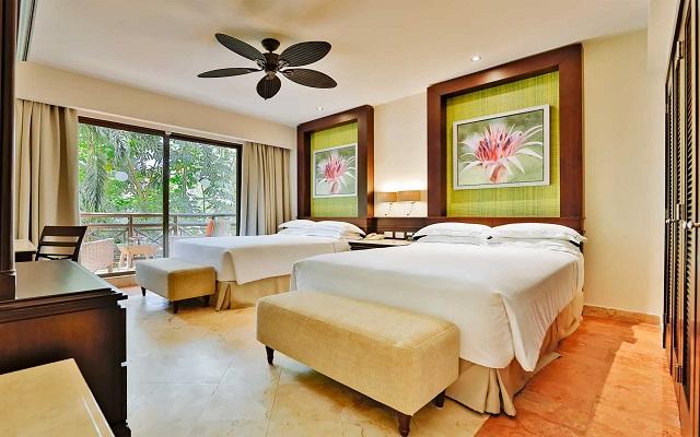 Hotel Occidental at Xcaret Destination, amplias y luminosas habitaciones