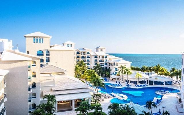 Hotel Occidental Costa Cancún, buena ubicación