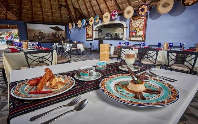 Hotel Occidental Nuevo Vallarta, gastronomía de calidad
