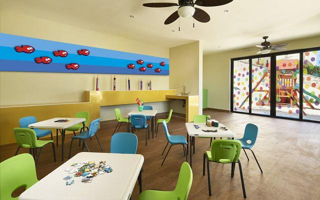 Hotel Occidental Tucancún, club infantil