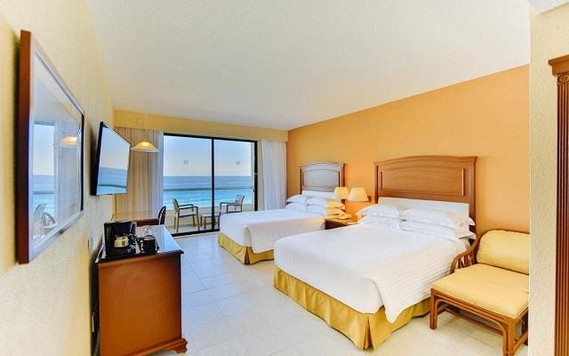 Hotel Occidental Tucancún, amplias y luminosas habitaciones