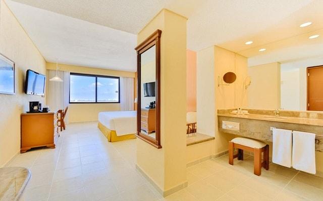 Hotel Occidental Tucancún, habitaciones bien equipadas
