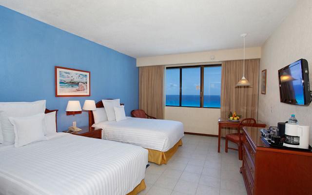 Hotel Occidental Tucancún, habitaciones cómodas