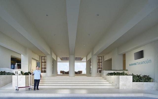 Hotel Occidental Tucancún, atención personalizada desde el inicio de tu estancia