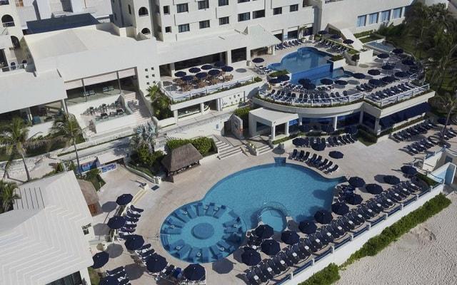 Hotel Occidental Tucancún, vista aérea