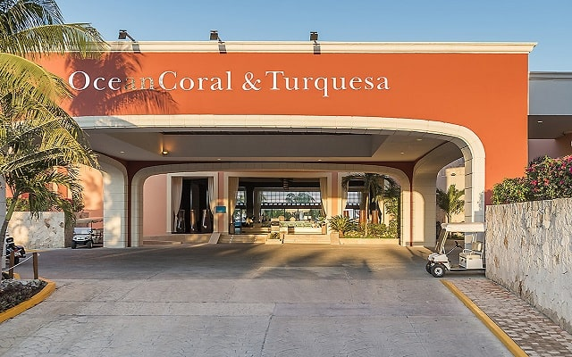 Hotel Ocean Coral and Turquesa - All Inclusive, ingreso