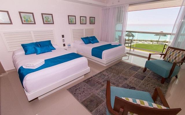 Hotel Ocean Dream BPR, amplias y luminosas habitaciones