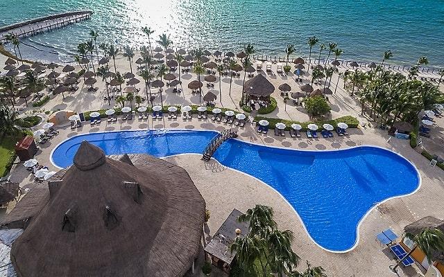 Hotel Ocean Maya Royale Sólo Adultos All Inclusive, vista aérea
