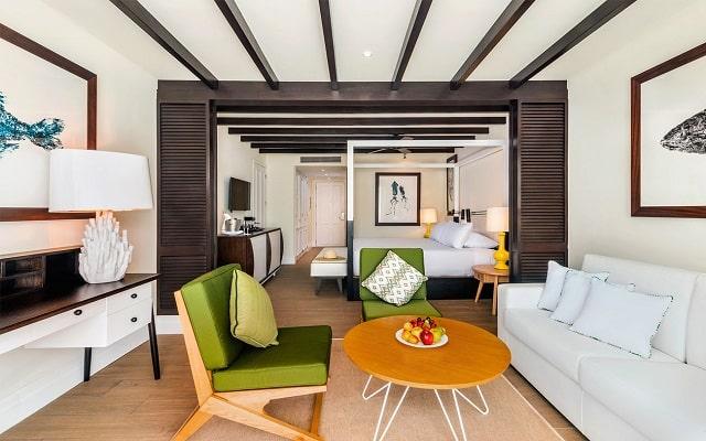 Hotel Ocean Riviera Paradise All Inclusive, amplias y luminosas habitaciones