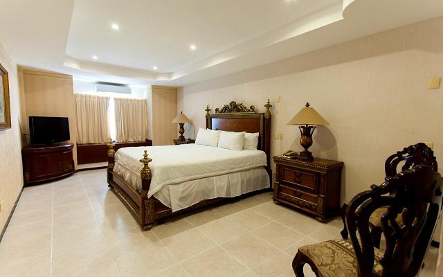 Cuenta con habitaciones completamente equipadas