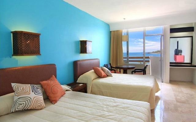 Hotel Océano Palace Mazatlán, habitaciones cómodas y acogedoras
