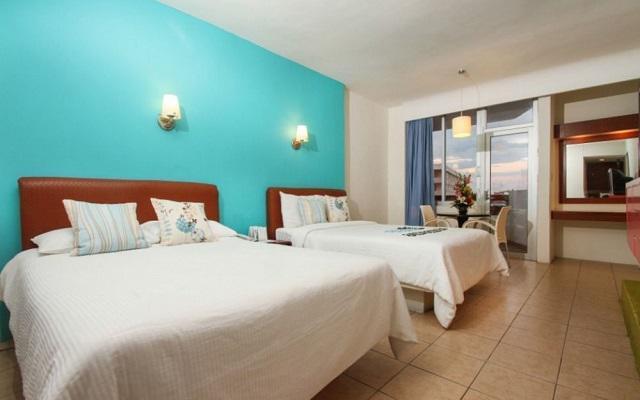 Hotel Océano Palace Mazatlán, habitaciones con todas las amenidades