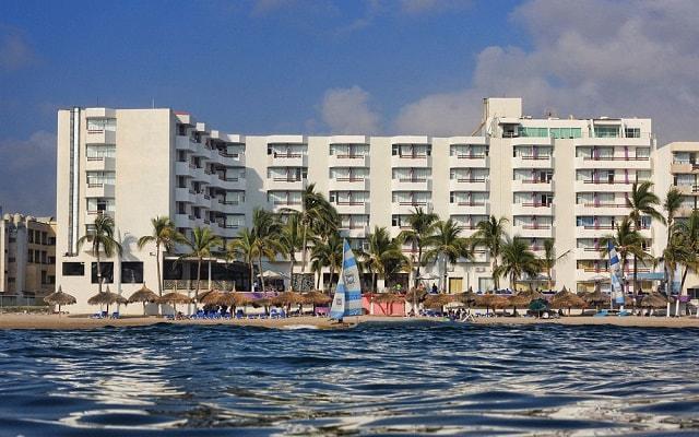 Hotel Océano Palace Mazatlán en Zona Dorada