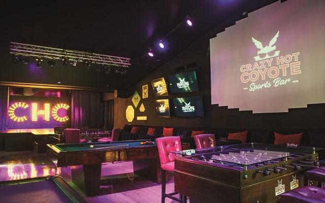Hotel Oh! Cancun the Urban Oasis, un buen juego en el bar
