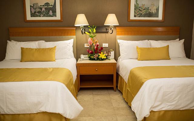 Olmeca Plaza, habitaciones cómodas y acogedoras