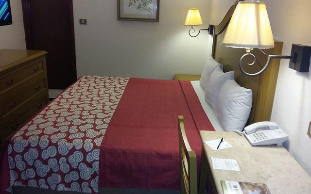 Olmeca Plaza, habitaciones bien equipadas