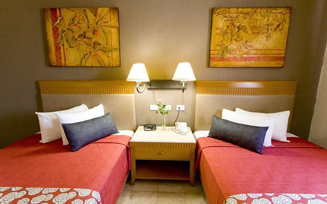 Olmeca Plaza, habitaciones con todas las amenidades
