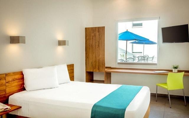 Hotel One Playa del Carmen Centro, habitaciones bien equipadas