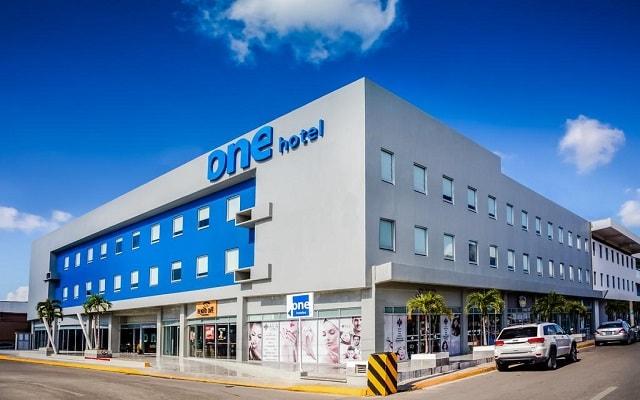 Hotel One Playa del Carmen Centro, buena ubicación