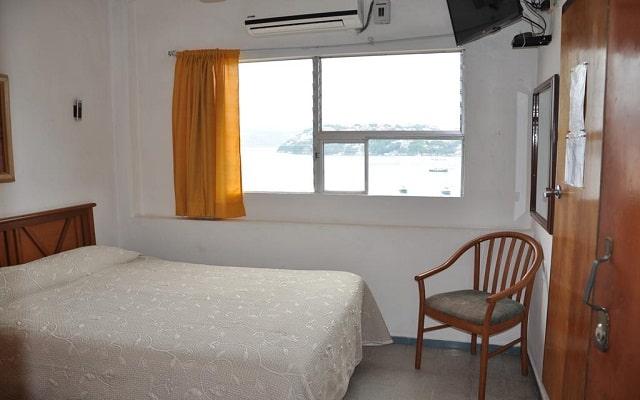 Hotel Oviedo Acapulco, amplias y luminosas habitaciones