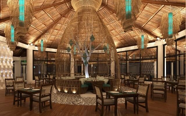 Hotel Palafitos Overwater Bungalows by Karisma, escenario perfecto para tus alimentos