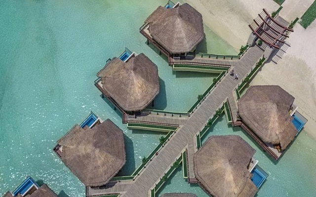 Hotel Palafitos Overwater Bungalows by Karisma, vista aérea