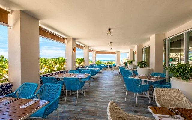 Hotel Panamá Jack Resorts Gran Caribe Cancún, buen servicio