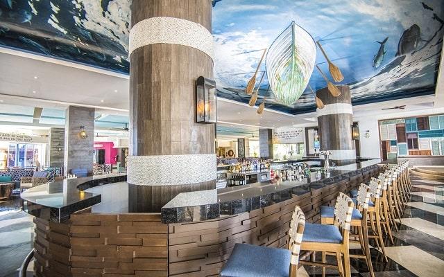 Hotel Panamá Jack Resorts Gran Caribe Cancún, sitios acogedores