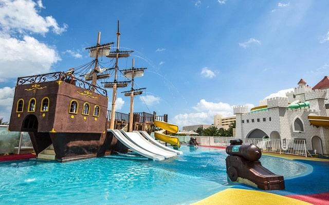 Hotel Panamá Jack Resorts Gran Caribe Cancún, parque acuático