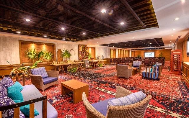 Hotel Panamá Jack Resorts Gran Caribe Cancún, lugares agradables