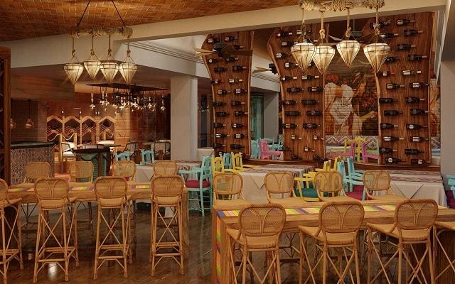 Hotel Panama Jack Resorts Gran Porto Playa del Carmen, prueba ricos platillos
