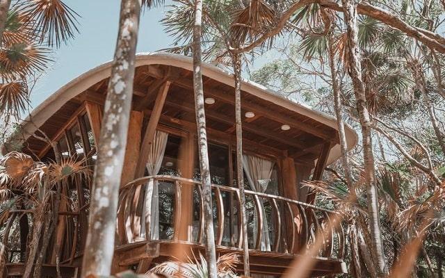 Hotel Papaya Playa, cabañas