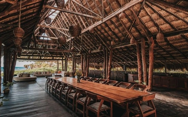 Hotel Papaya Playa, buena gastronomía