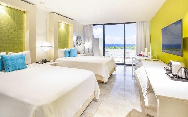 Hotel Paradisus Cancún Resort by Meliá, amplias y luminosas habitaciones