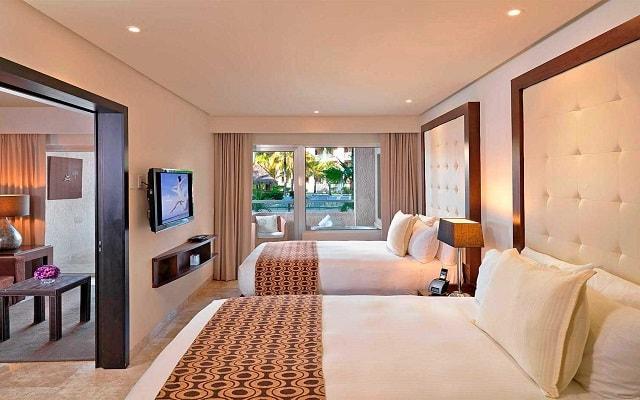 Hotel Paradisus Playa del Carmen La Esmeralda by Melia, amplias y luminosas habitaciones