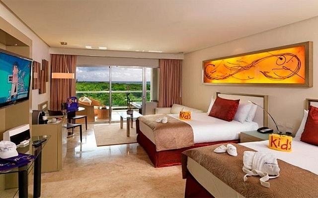 Hotel Paradisus Playa del Carmen La Esmeralda, habitaciones bien equipadas