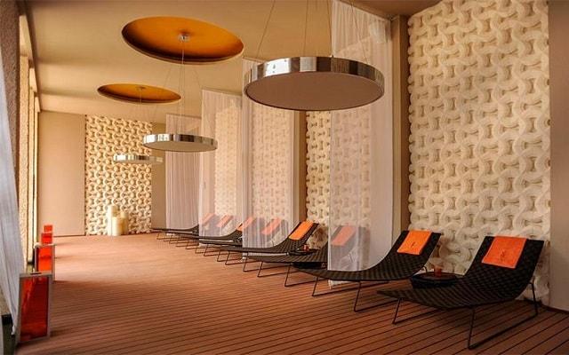 Hotel Paradisus Playa del Carmen La Esmeralda, sala de descanso spa