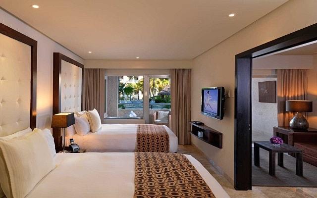 Hotel Paradisus Playa del Carmen La Perla By Meliá, amplias y luminosas habitaciones