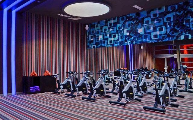 Hotel Paradisus Playa del Carmen La Perla By Meliá, ejercítate en el gimnasio