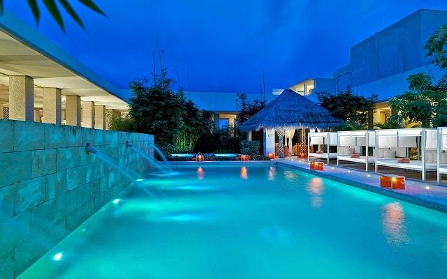 Hotel Paradisus Playa del Carmen La Perla By Meliá, alberca en el spa