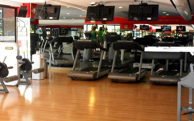 Hotel Park Nilo, gimnasio bien equipado