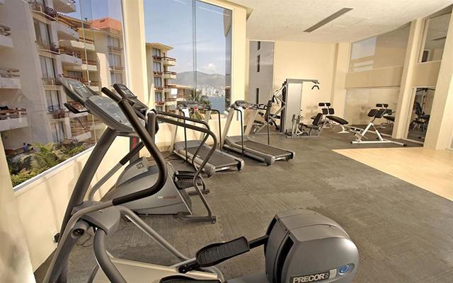 Hotel Park Royal Acapulco, gimnasio bien equipado