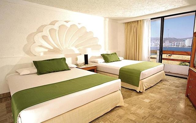 Hotel Park Royal Acapulco, habitaciones bien equipadas
